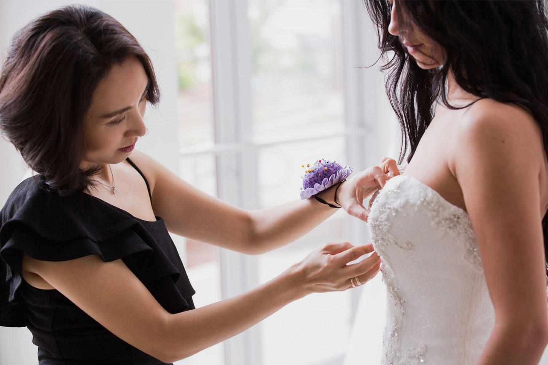 Angela Kim - Custom Wedding Dress Designer and Bespoke Dressmaker