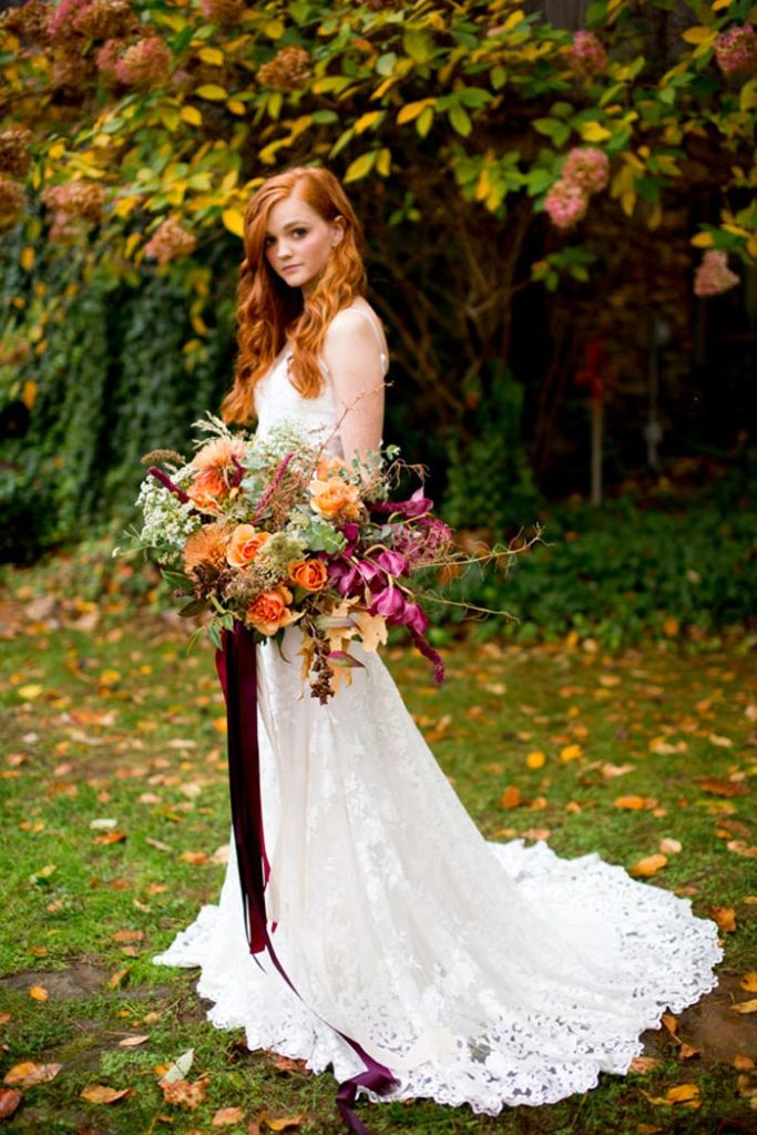 Custom Wedding Dress by Angela Kim Couture