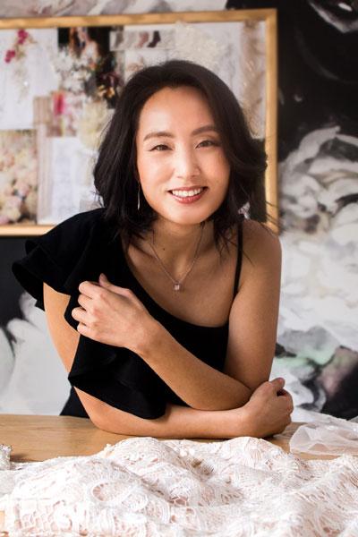 Angela Kim — Custom Wedding Dress Designer